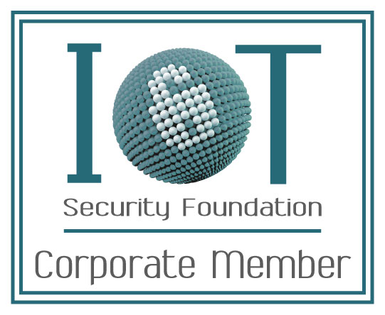 Internet of Things Security Foundation Corporate Member badge